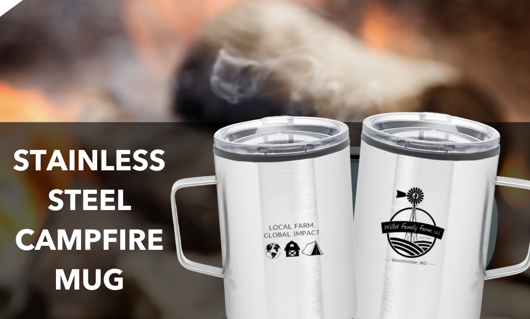 NEW Stainless Steel Campfire Mugs